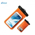 Bingo 5.5 inch Mobile Waterproof Case WP-55OR-Orange